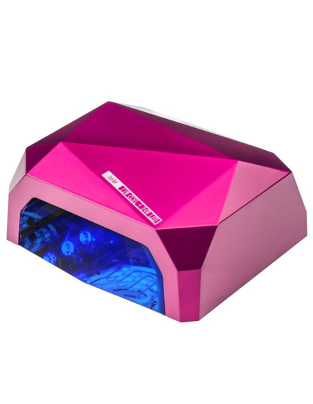 "Rožinė UV+LED lempa ""Diamond"""